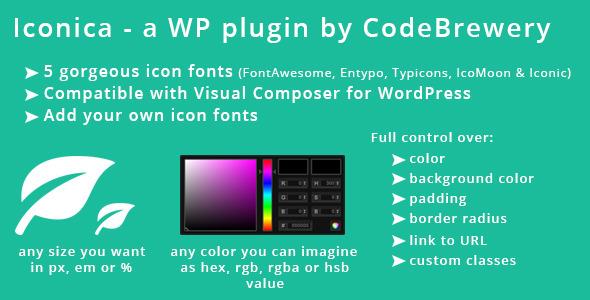 CodeCanyon Iconica WordPress Plugin 5552954