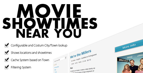 CodeCanyon Movie Showtimes Near Your City 5577635