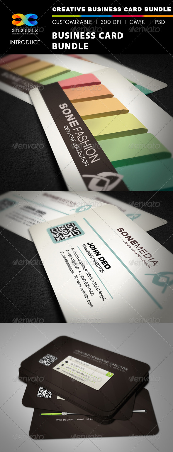 GraphicRiver Business Card Bundle 3 in 1-Vol 27 5577776