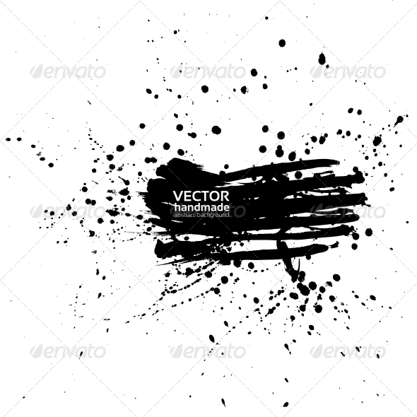 GraphicRiver Abstract Banner of Spray Paint 5577912