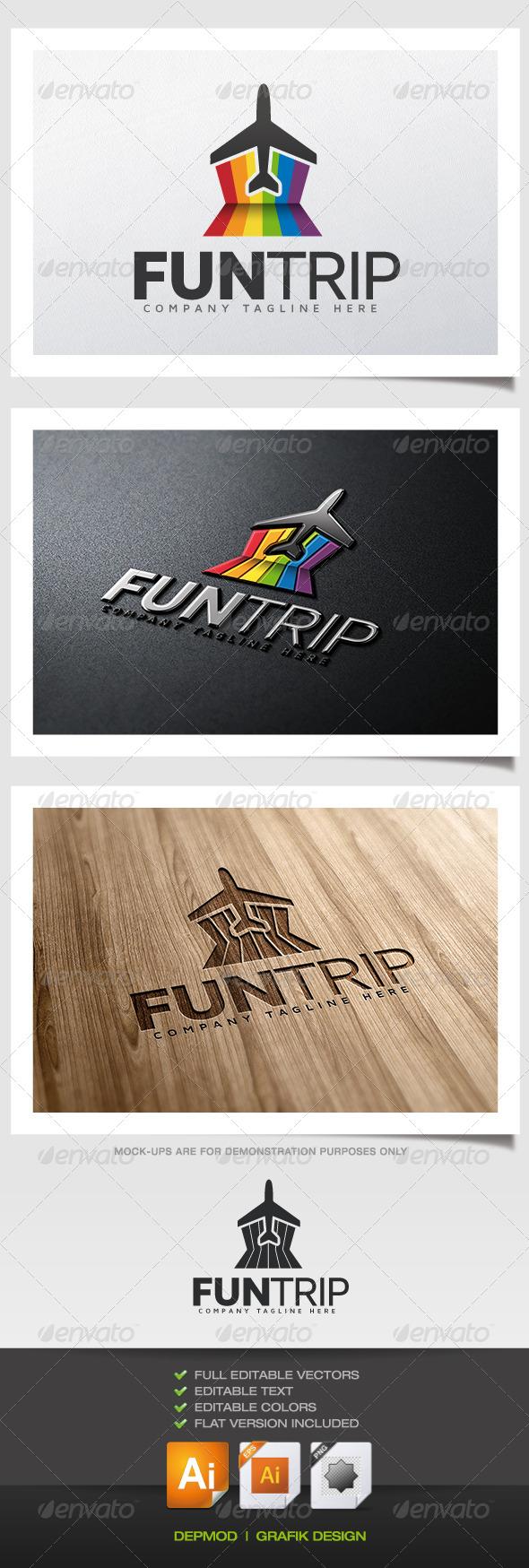 GraphicRiver Fun Trip Logo 5578002