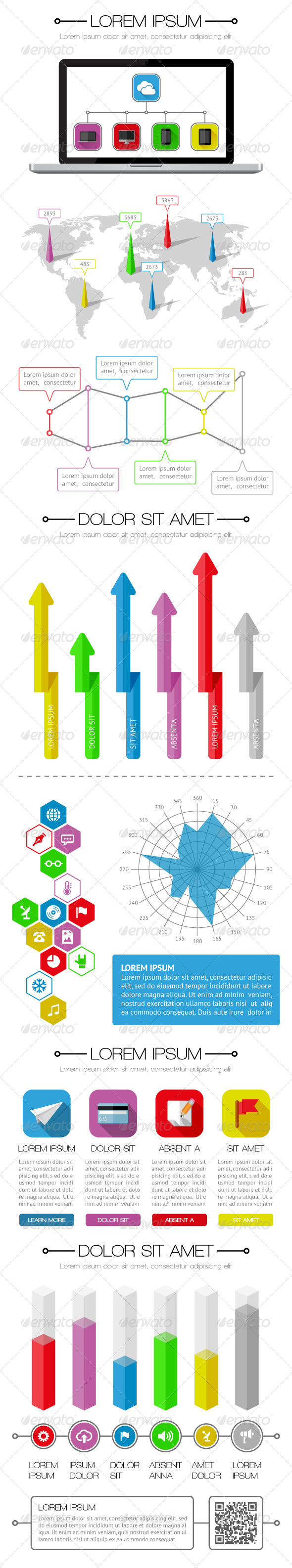 GraphicRiver Ui Infographics and Web Elements 5578735