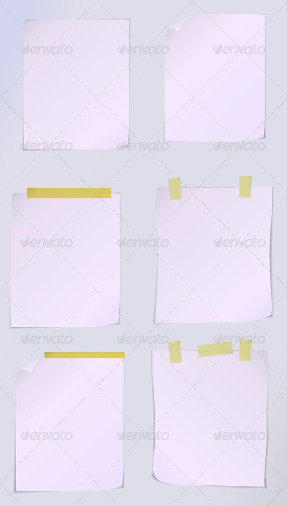 GraphicRiver Page Paper 5578739