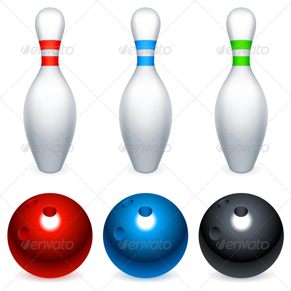GraphicRiver Bowling Equipment 5578741