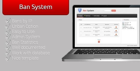 CodeCanyon Ban System 5553063