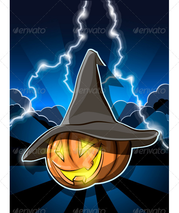 GraphicRiver Halloween Pumpkin 5579043