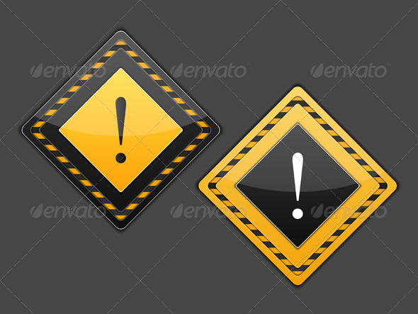 GraphicRiver Exclamation Mark 5579094