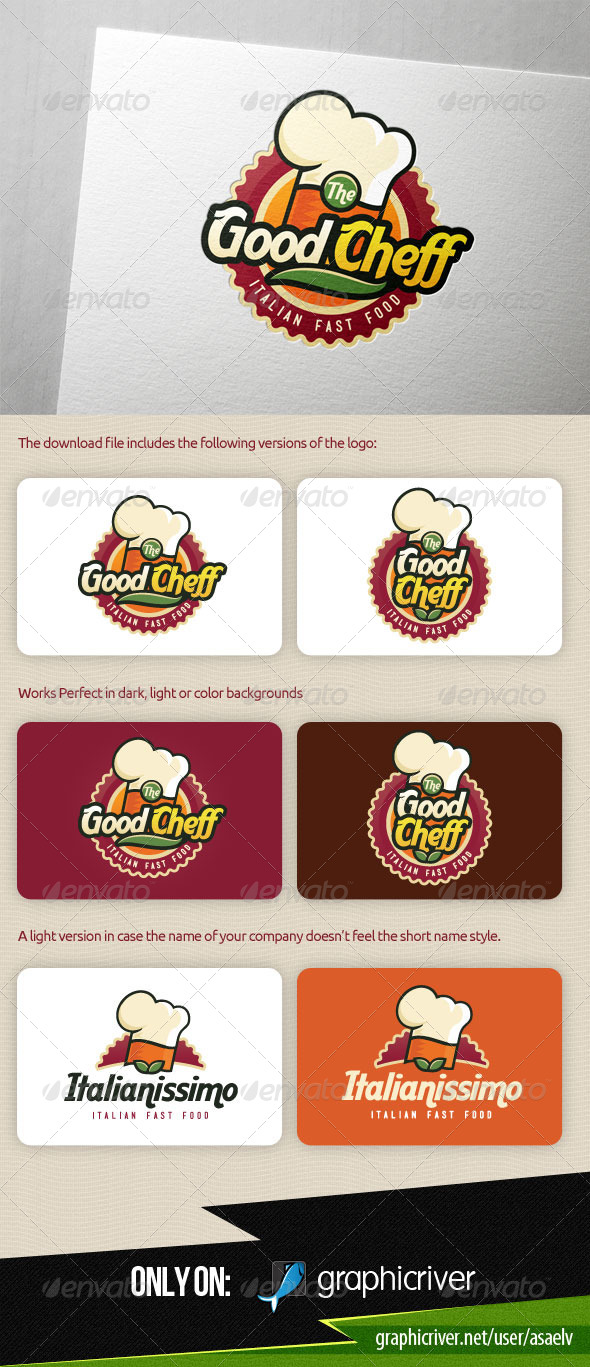 Restaurant and Food Logo - Food Logo Templates