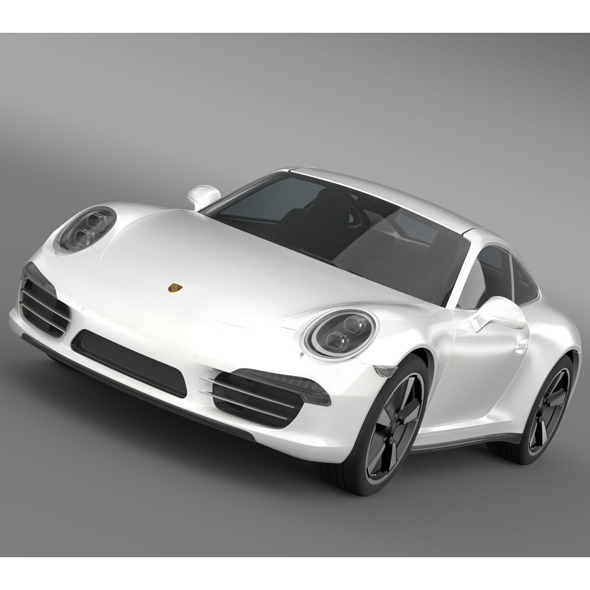 3DOcean Porsche 911 50 Year Edition 2013 5579915