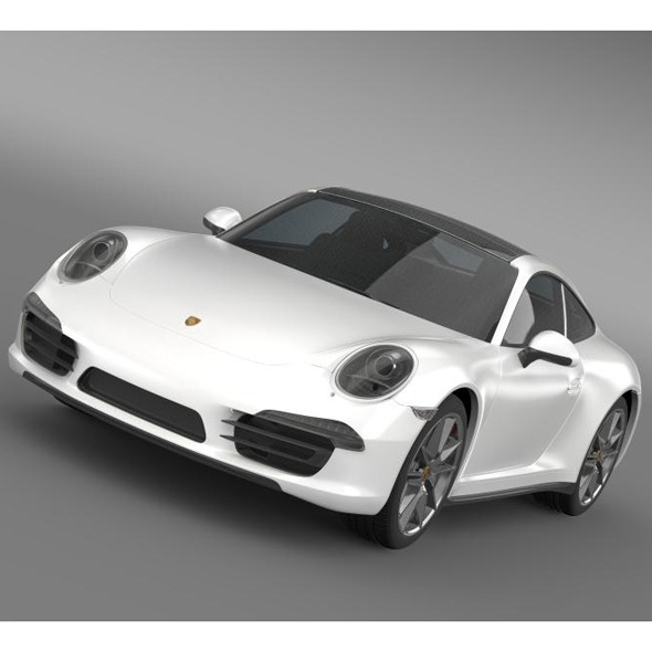 Porsche 911 Carerra 4 2013 - 3DOcean Item for Sale