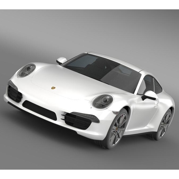 3DOcean Porsche 911 Carerra S 2013 5580220