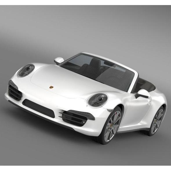 3DOcean Porsche 911 Carerra s Cabrio 2013 5580233