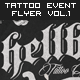 Tattoo & Rock Music Event Flyer Vol. 1 - GraphicRiver Item for Sale