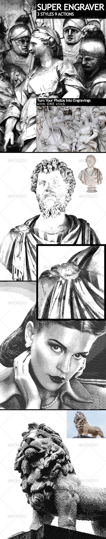 GraphicRiver Super Engraver 5580314
