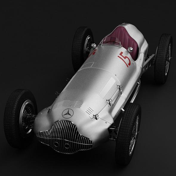 3DOcean Mercedes Benz w154 5580444