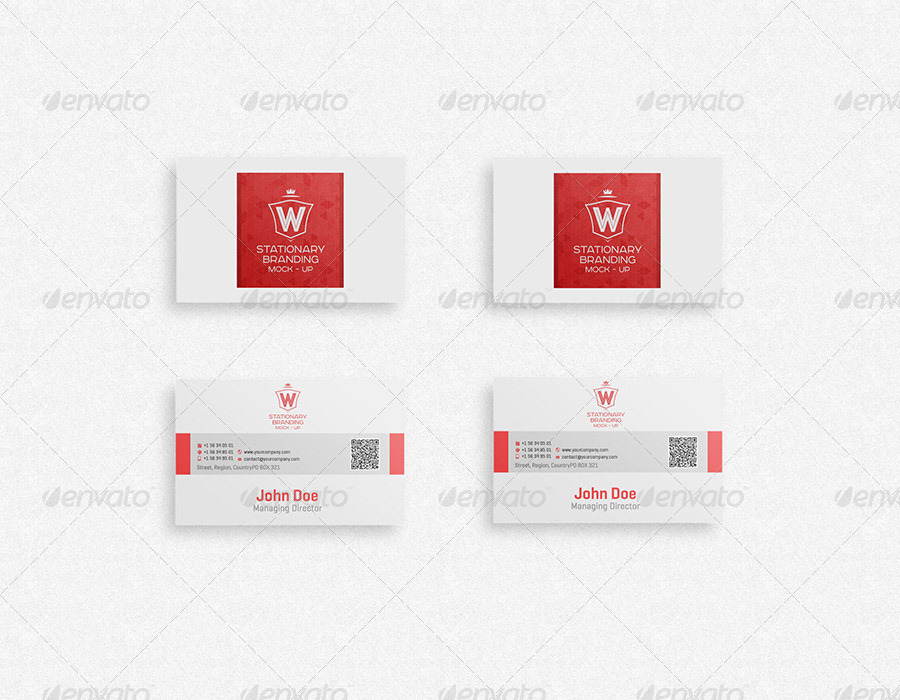 Stationery Branding Mock-Up Collection