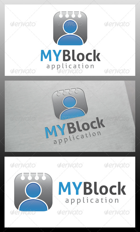 GraphicRiver My Blog Logo Template 5580925