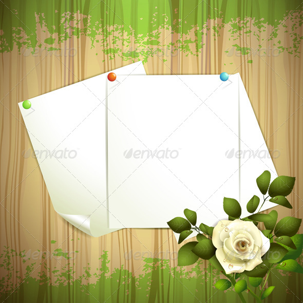 GraphicRiver Sheets of Paper 5581214