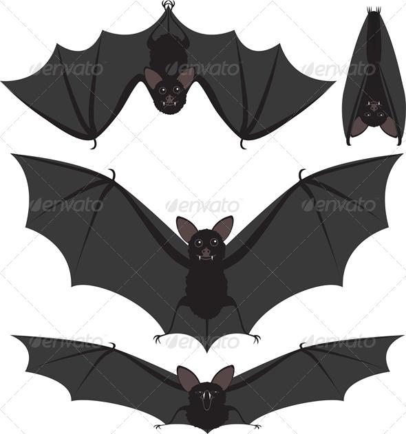 GraphicRiver Halloween Bats 5581350