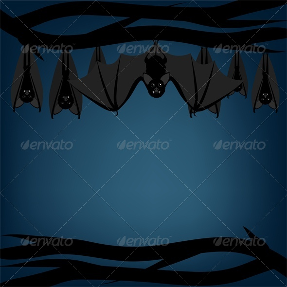 GraphicRiver Bats 5581373