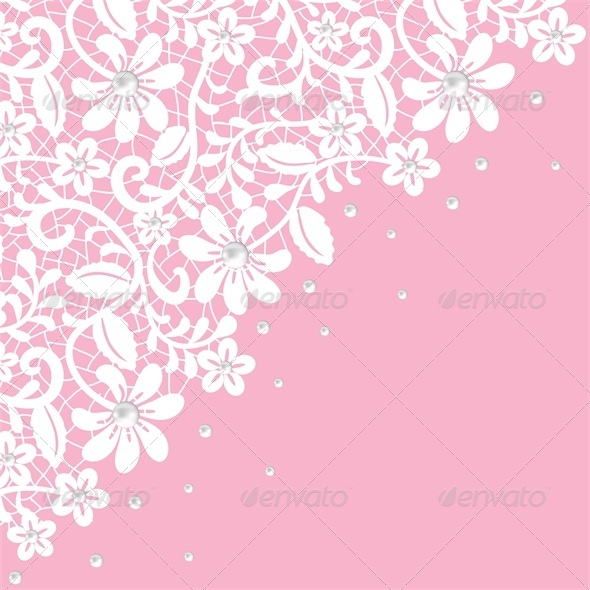 GraphicRiver Pearl and Lace Border 5581552