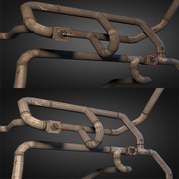 3DOcean Pipe Pack 01 5581643