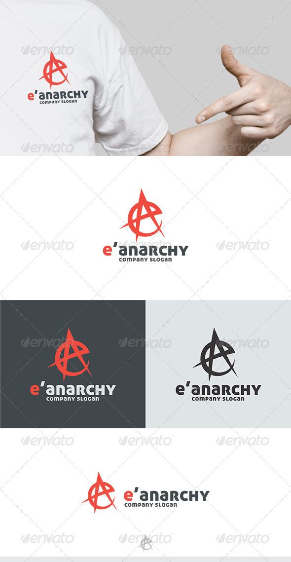 GraphicRiver E Anarchy Logo 5581721