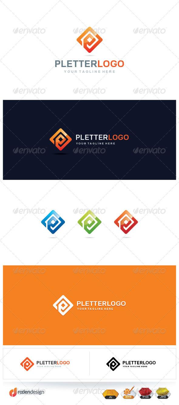 GraphicRiver P letter logo 5581749