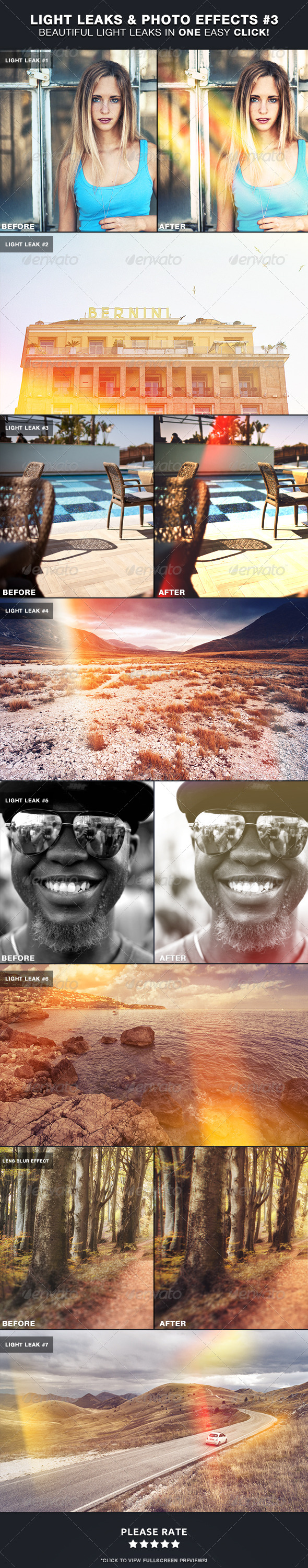 GraphicRiver Light Leaks & Photo Effects #3 5581940