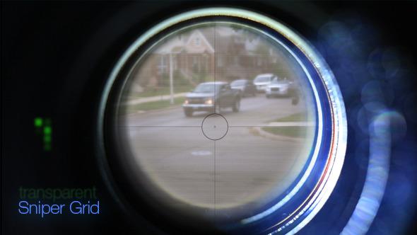 VideoHive Transparent Sniper Grid 5582022