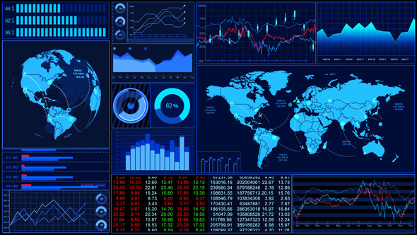 VideoHive Stock Market Trends 5531098