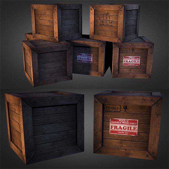 3DOcean Crates 01 5582253