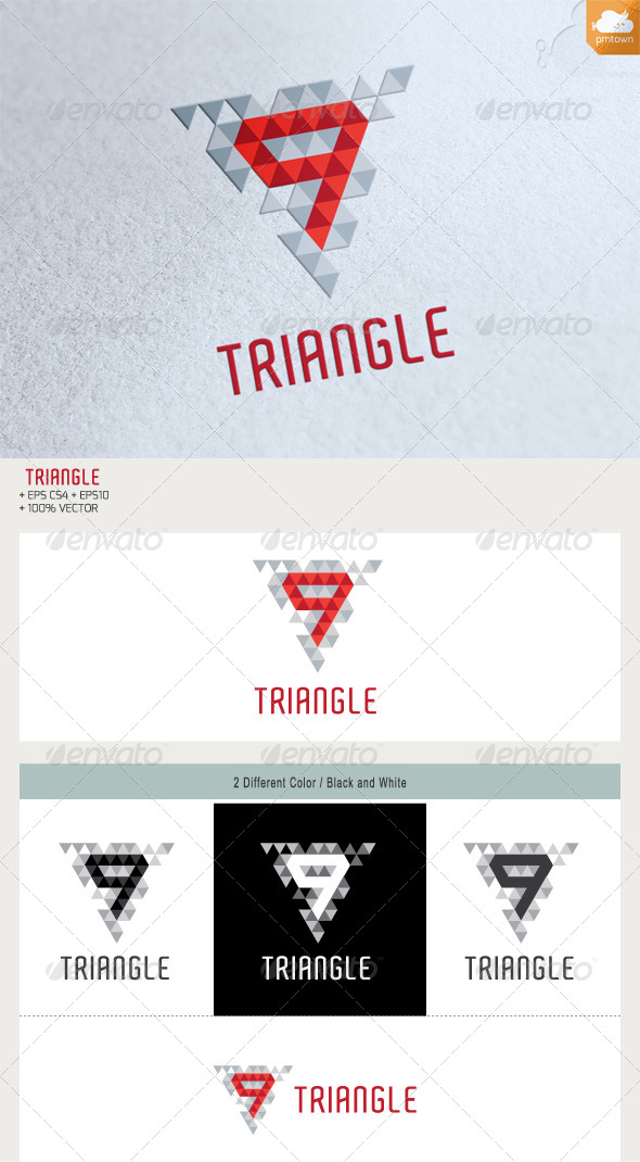 GraphicRiver 9 Triangle 5582382