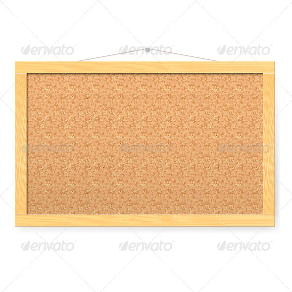 GraphicRiver Corkboard 5583250