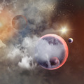Image of planets in space - PhotoDune Item for Sale