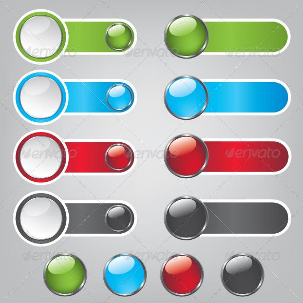 GraphicRiver Web Bubble Icons 5583990
