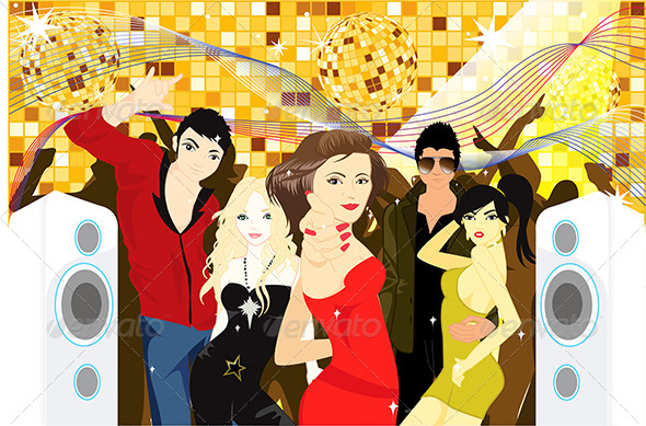 GraphicRiver Party People 5584875