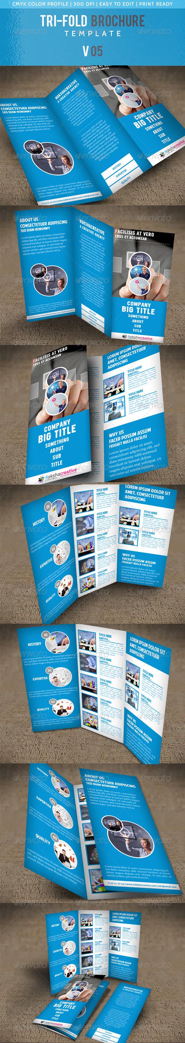 Corporate Tri-Fold Brochure V 05