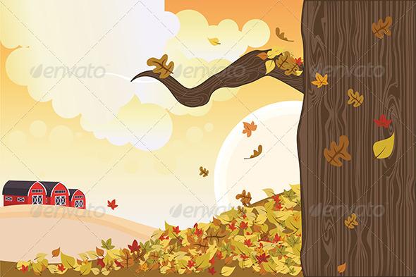 GraphicRiver Autumn Season 5585045