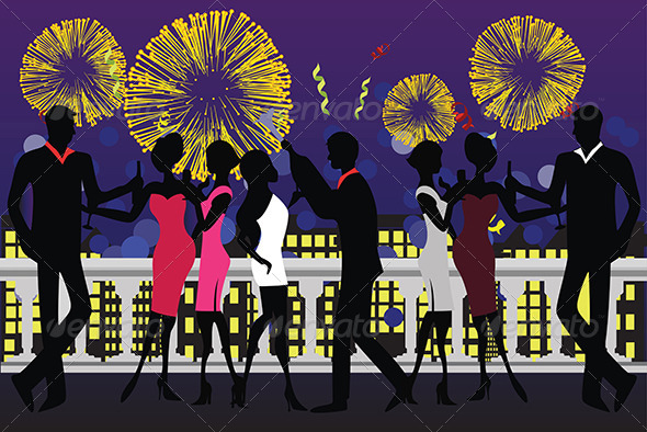 GraphicRiver New Year Party Celebration 5585110