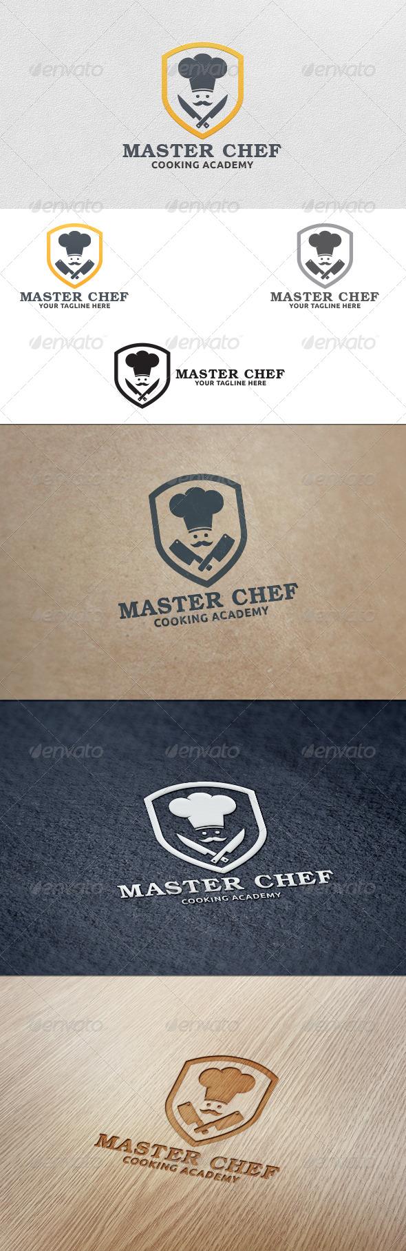 GraphicRiver Master Chef Logo Template 5585169