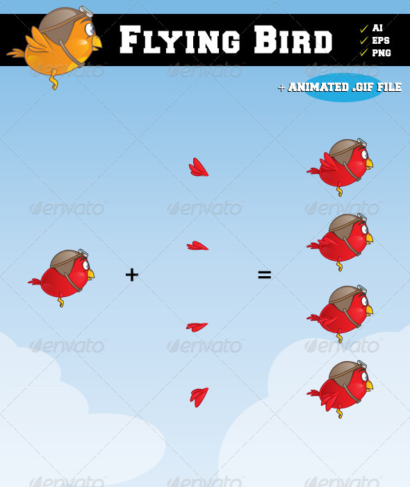 GraphicRiver Flying Bird 2405966