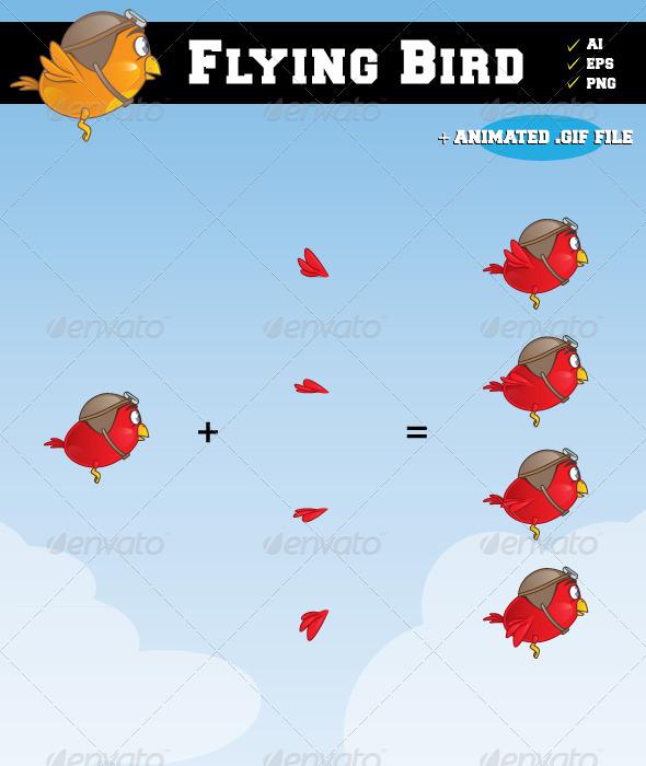 GraphicRiver Flying Bird 2405966