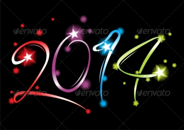 GraphicRiver New Year 2014 5585432