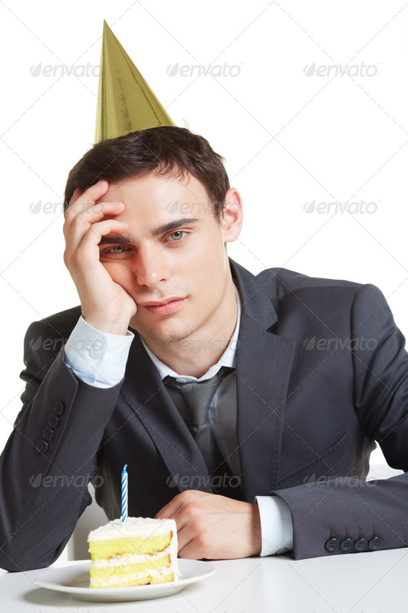 Annoyed man - Stock Photo - Images