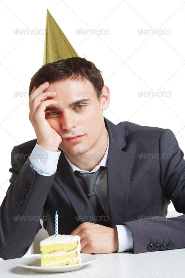 Annoyed man - Stock Photo - Images