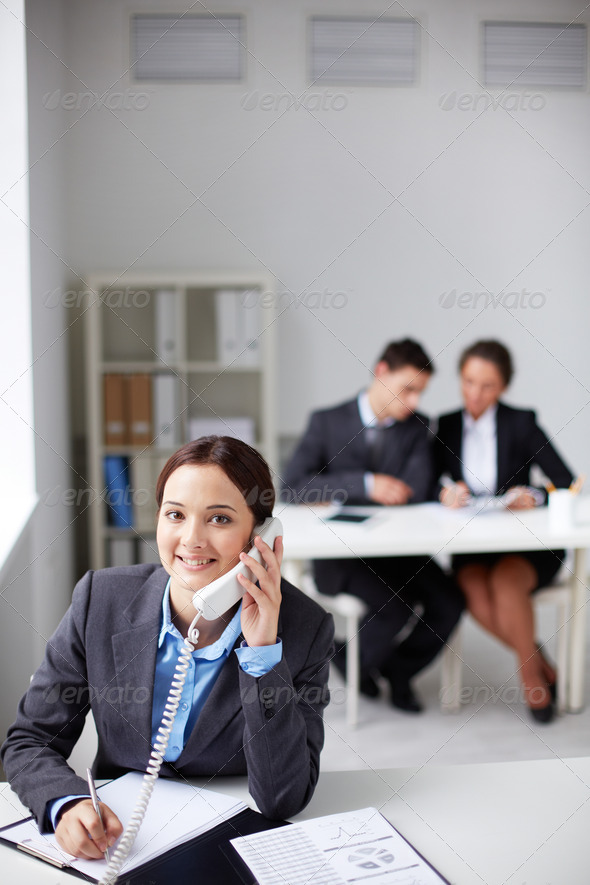Successful businesswoman - Stock Photo - Images
