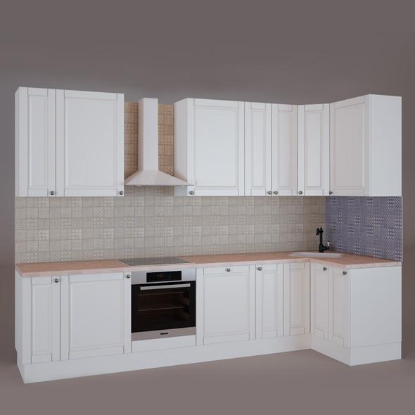 3DOcean Kitchen Set Ikea 5586319