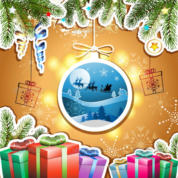 GraphicRiver Christmas with Gifts 5586712