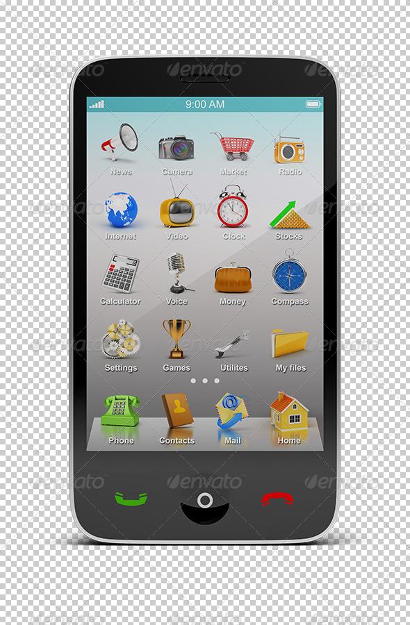 GraphicRiver Smartphone 5586774